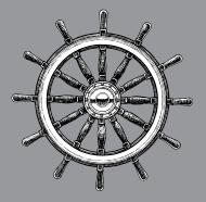 stock-illustration-19803942-ship-steering-wheel-navigational-equipment