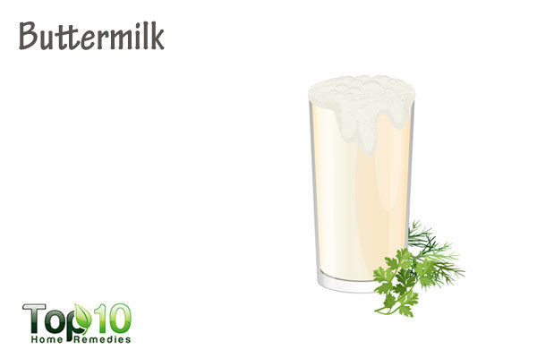 buttermilk to heal age spots
