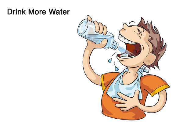 drink more water to reduce alcohol breath